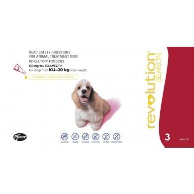 Revolution Dog 10.1 – 20 kg (Red)