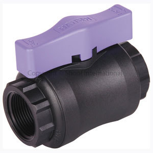 Hansen Ball Valve Lilac 15mm