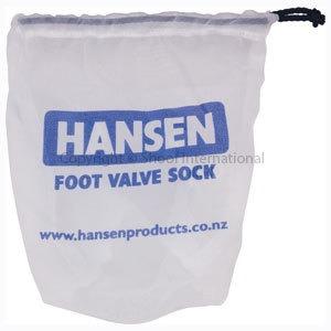 Hansen Foot Valve Filter Sock only