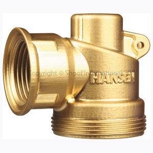 Hansen Super-Flo Valve Brass 20/25 Short