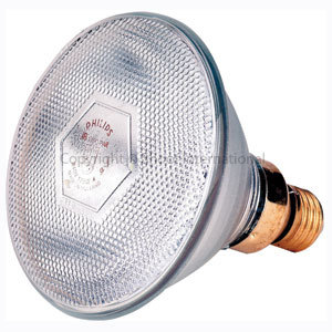 Brooder Lamp Infrared Phillip Clear 100w