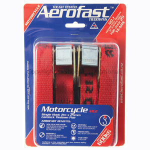 Tiedown Aerofast Motorcycle 2mx25mm 2pk