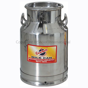 Milk Can Stainless Cowbell 20L Sealable