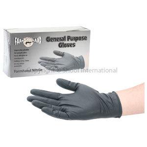 Gloves Farmhand Nitrile Med 50pk