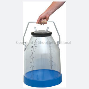 Herd Test Bucket Clear 32L