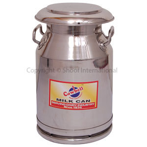 Milk Can Stainless Cowbell 20L w Lid