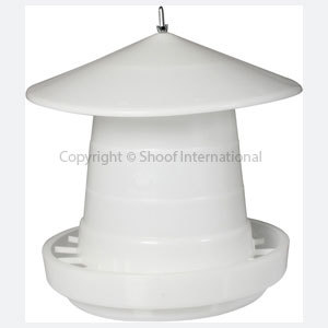 Poultry Feeder Crown Susp 15kg w Cover