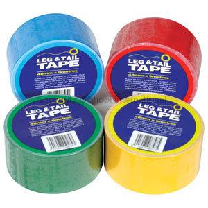 Leg & Tail Tape 25m Red