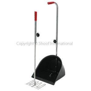 Dung Scoop & Rake Long-handle set