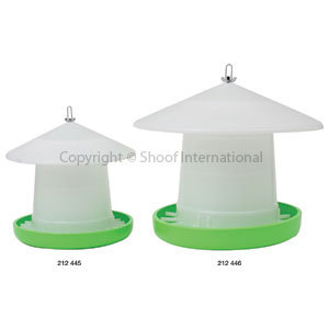 Poultry Feeder Crown Susp 8kg w Cover