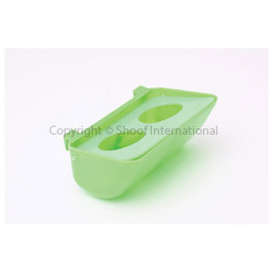 Water Bowl Crown Small Bird w Cover