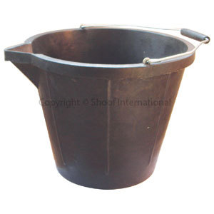 Bucket Recycled Rubber 14L