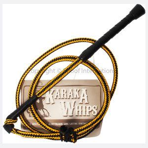 Stock Whip Karaka 5ft Yellow/Blk