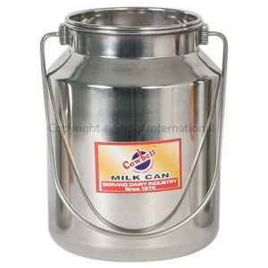 Milk Billy Stainless Cowbell 5L w Lid