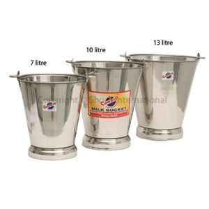 Bucket Stainless Cowbell 13L