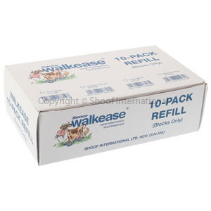 Walkease Blocks-only Med (yellow) 10-pac