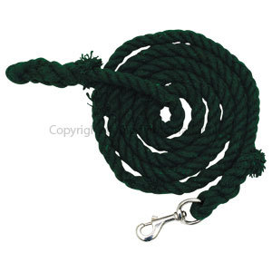 Lead Cotton Rope Green