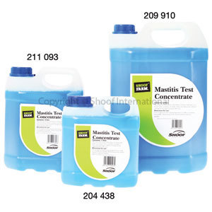 Mastitis Test Concentrate 5 Litres