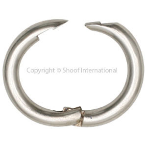 Pig Ring Nickel Plated 10-pack