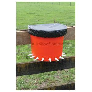Lamb Feeder Rail Bucket 10-place