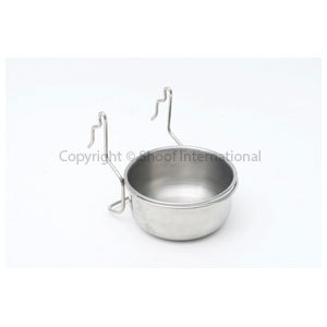 Water Bowl Crown Rabbit Stainless cpt