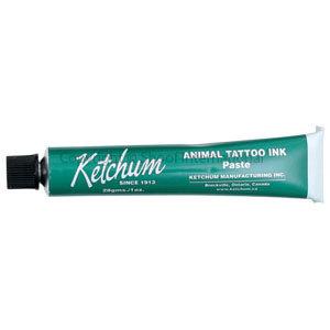 Tattoo Ink Ketchum Green 28gm Tube