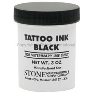 Tattoo Ink Stone Black 3oz/85gm