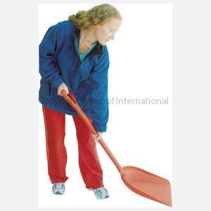 Shovel Plastic Fjord Red AU