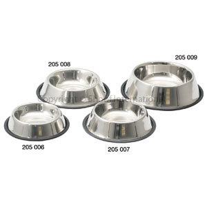 Pet Bowl Stainless Non-tip 17cm/900ml
