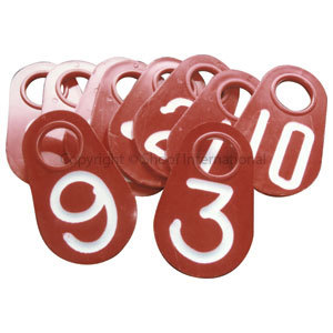 Neck Chain Tags Blank x 10 (I)