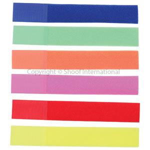 Leg Bands Nylon Mixed Colour 10-pk