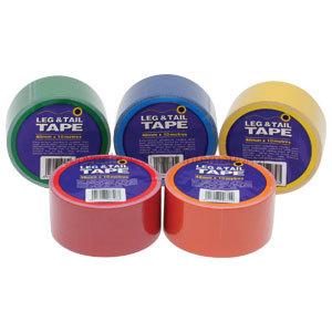 Leg & Tail Tape 10m Red