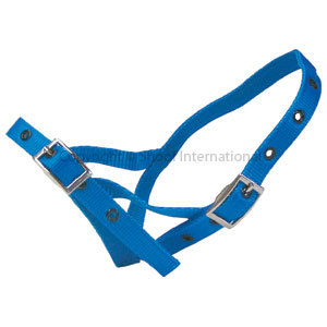 Halter Nylon Calf Tethering Red