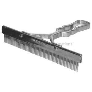 Grooming Comb T 9in Aluminium Handle