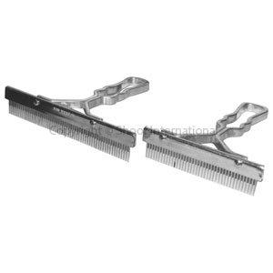 Grooming Comb T 6in Aluminium Handle