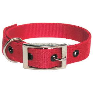 Goat Collar Nylon Doe Red