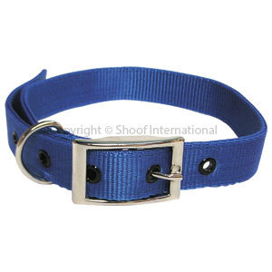 Goat Collar Nylon Buck Blue