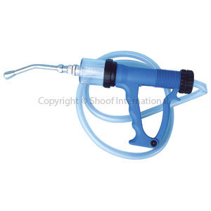 Drench Gun Blue Plastic 70ml Auto cpt