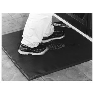 Disinfection Mat 85cm x 85cm black